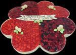 Hochzeitstorte Obsttorten: Früchte-Kleeblatt