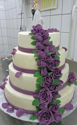 Hochzeitstorte Englischer Aufbau: Endless Love