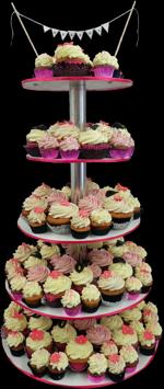Hochzeitstorte Cupcake-Kombinationen: Classic