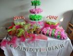 Hochzeitstorte Cupcake-Kombinationen: Candybar