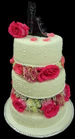 Hochzeitstorte Echte Blumen: Litte Flowers