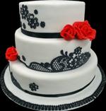 Hochzeitstorte Englischer Aufbau: Georgia