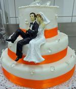 Hochzeitstorte Englischer Aufbau: Diamonds